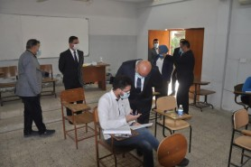 The University of Technology begins the first semester examinations for postgraduate students in
